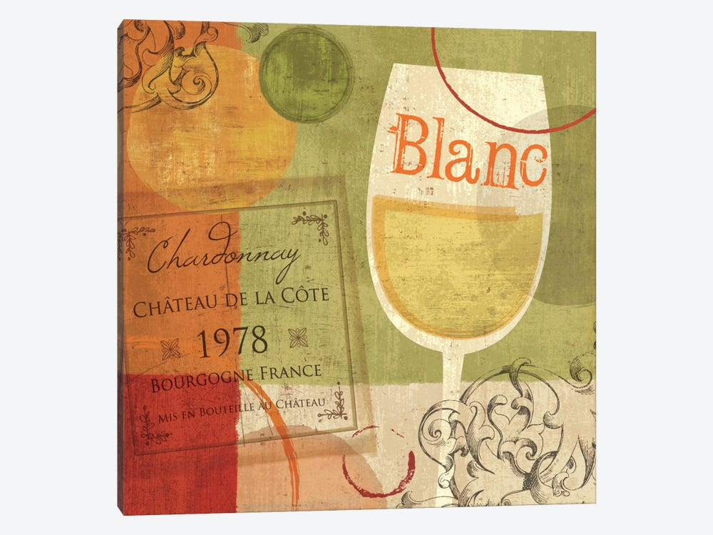 Cheers! Blanc by Veronique 1-piece Canvas Art
