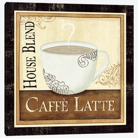 Coffee and Cream I Canvas Print #WAC1503} by Veronique Canvas Wall Art