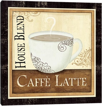 Coffee and Cream I Canvas Art Print
