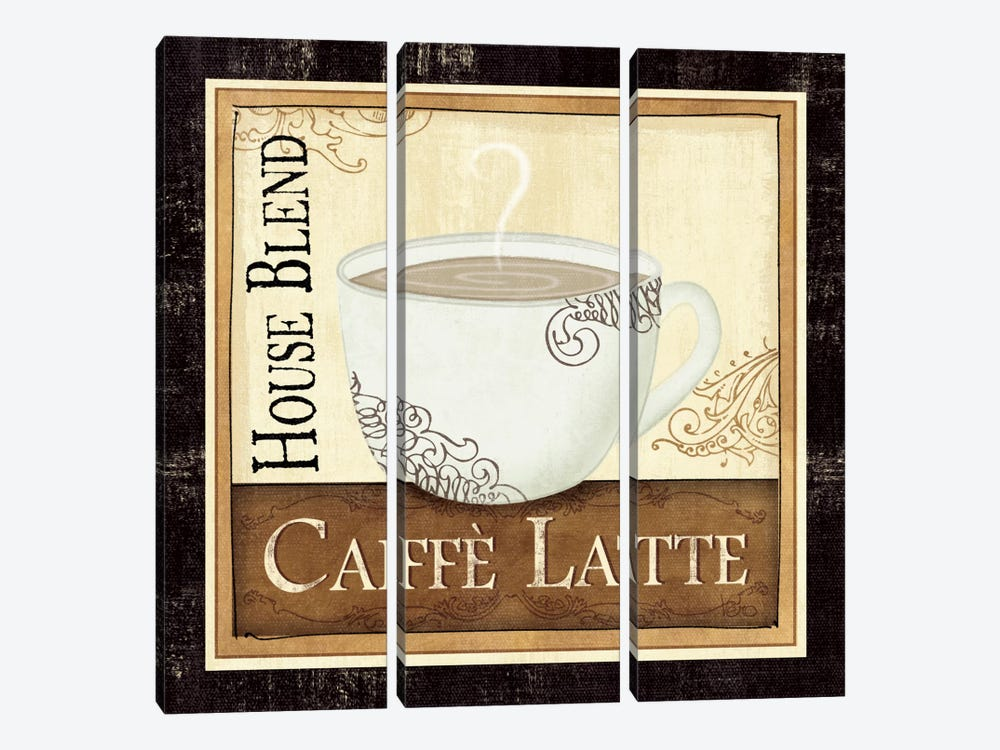 Coffee and Cream I 3-piece Canvas Art Print