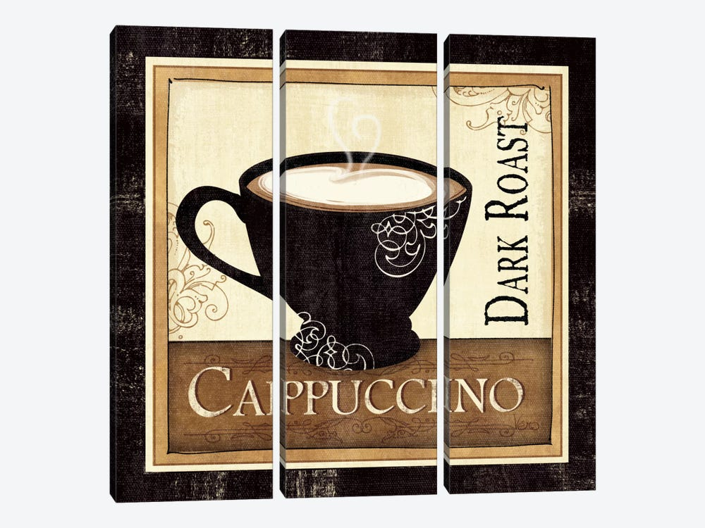Coffee and Cream II by Veronique 3-piece Canvas Art