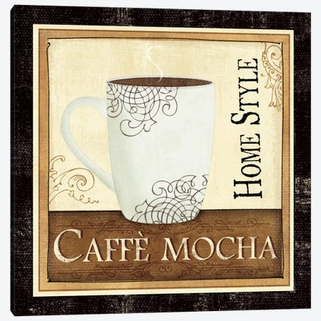 Coffee and Cream IV Canvas Print #WAC1506} by Veronique Canvas Print