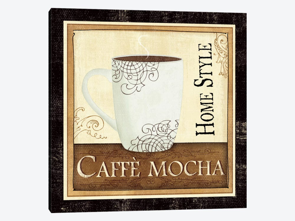 Coffee and Cream IV by Veronique 1-piece Canvas Art