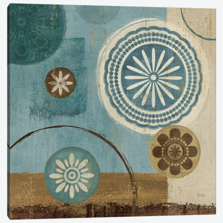 New Generation Blue III  Canvas Print #WAC1508} by Veronique Canvas Wall Art