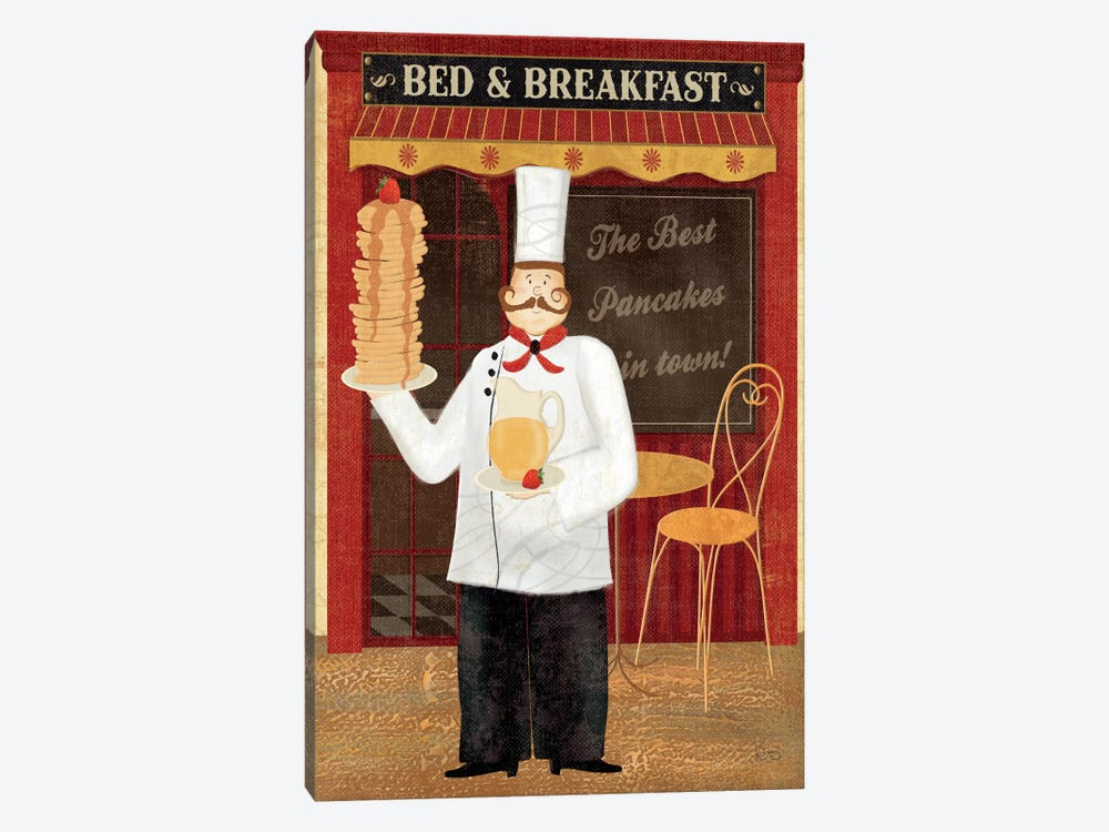 Chef's Specialties I by Veronique 1-piece Canvas Print