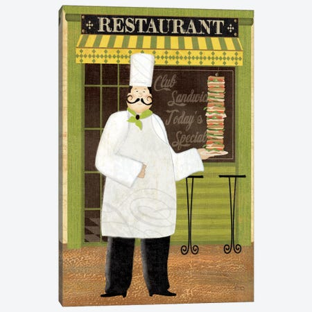 Chef's Specialties II Canvas Print #WAC1510} by Veronique Art Print