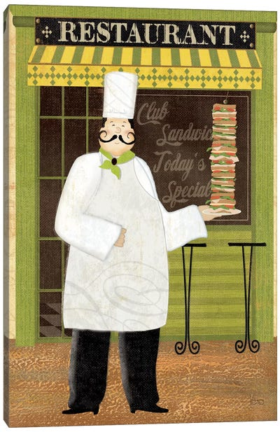 Chef's Specialties II Canvas Art Print