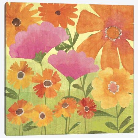 Spring Fling I Canvas Print #WAC1514} by Veronique Canvas Wall Art