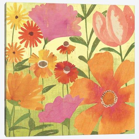 Spring Fling II Canvas Print #WAC1515} by Veronique Canvas Artwork