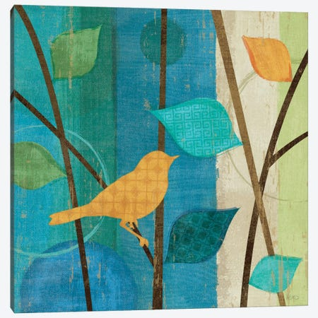 Magical Forest I Canvas Print #WAC1516} by Veronique Canvas Wall Art