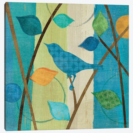Magical Forest IV Canvas Print #WAC1517} by Veronique Canvas Artwork