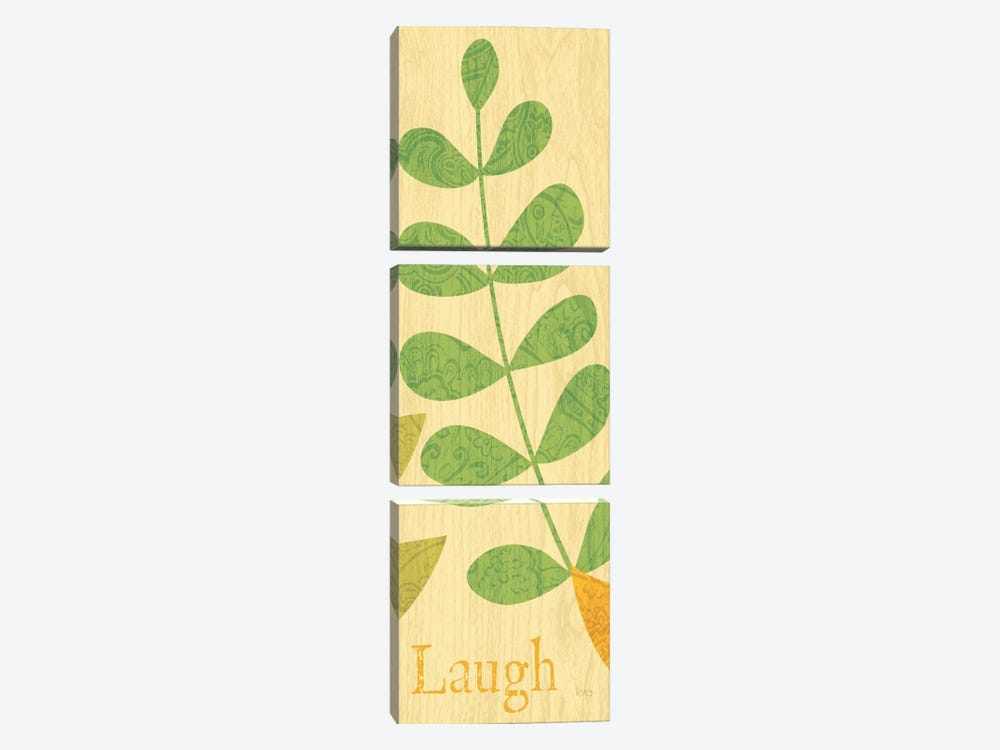 Nature Trio - Laugh by Veronique 3-piece Canvas Artwork
