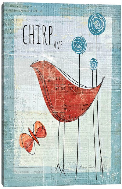 Chirp Ave Canvas Art Print