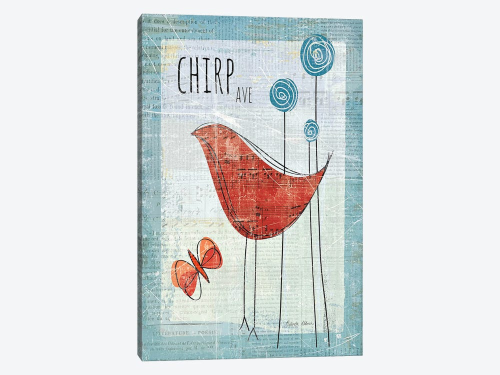 Chirp Ave by Belinda Aldrich 1-piece Art Print