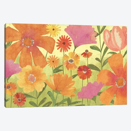 Spring Fling  Canvas Print #WAC1521} by Veronique Canvas Art