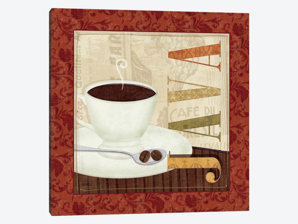 Coffee Cup I by Veronique 1-piece Canvas Wall Art