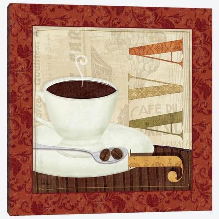 Coffee Cup I Canvas Print #WAC1522} by Veronique Canvas Art