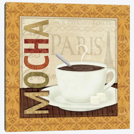 Coffee Cup II Canvas Print #WAC1523} by Veronique Canvas Art