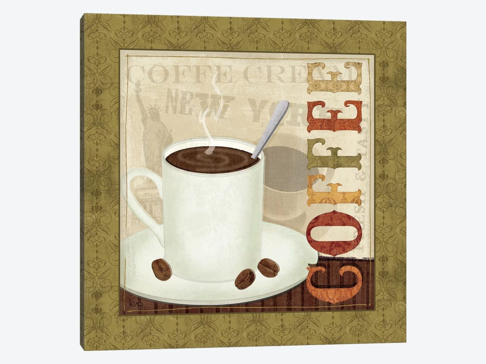 Coffee Cup III by Veronique 1-piece Canvas Wall Art