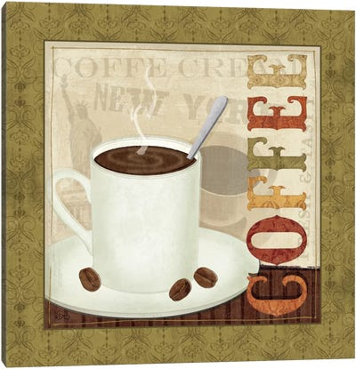 Coffee Cup III Canvas Art Print