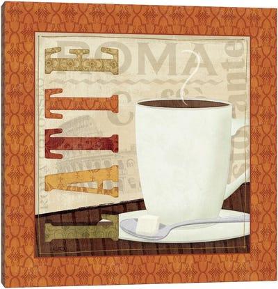 Coffee Cup IV Canvas Print #WAC1525