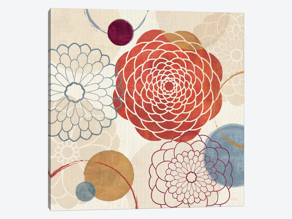 Abstract Bouquet I by Veronique 1-piece Canvas Wall Art