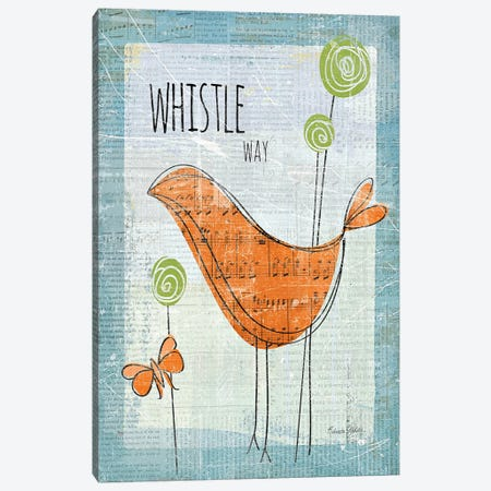 Whistle Way Canvas Print #WAC153} by Belinda Aldrich Canvas Wall Art