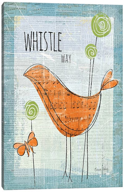 Whistle Way Canvas Art Print