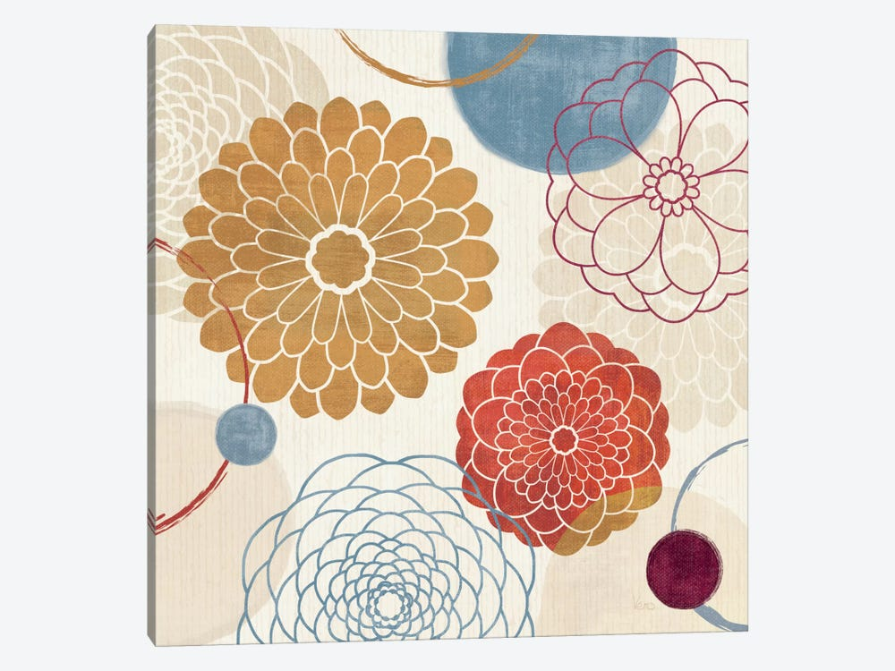 Abstract Bouquet II by Veronique 1-piece Canvas Wall Art