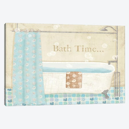 Mosaic Bath II  Canvas Print #WAC1551} by Veronique Canvas Print