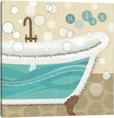 Dancing Bubbles II  Canvas Print #WAC1553