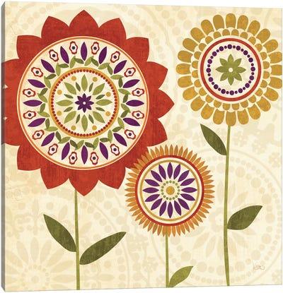 Fall Flowers I  Canvas Print #WAC1554