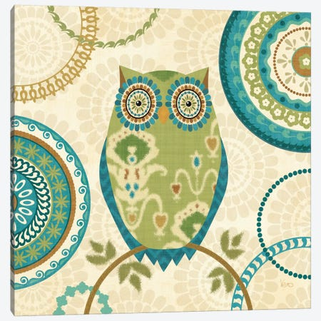 Owl Forest I  Canvas Print #WAC1556} by Veronique Canvas Art