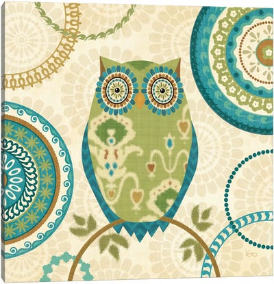 Owl Forest I  Canvas Art Print
