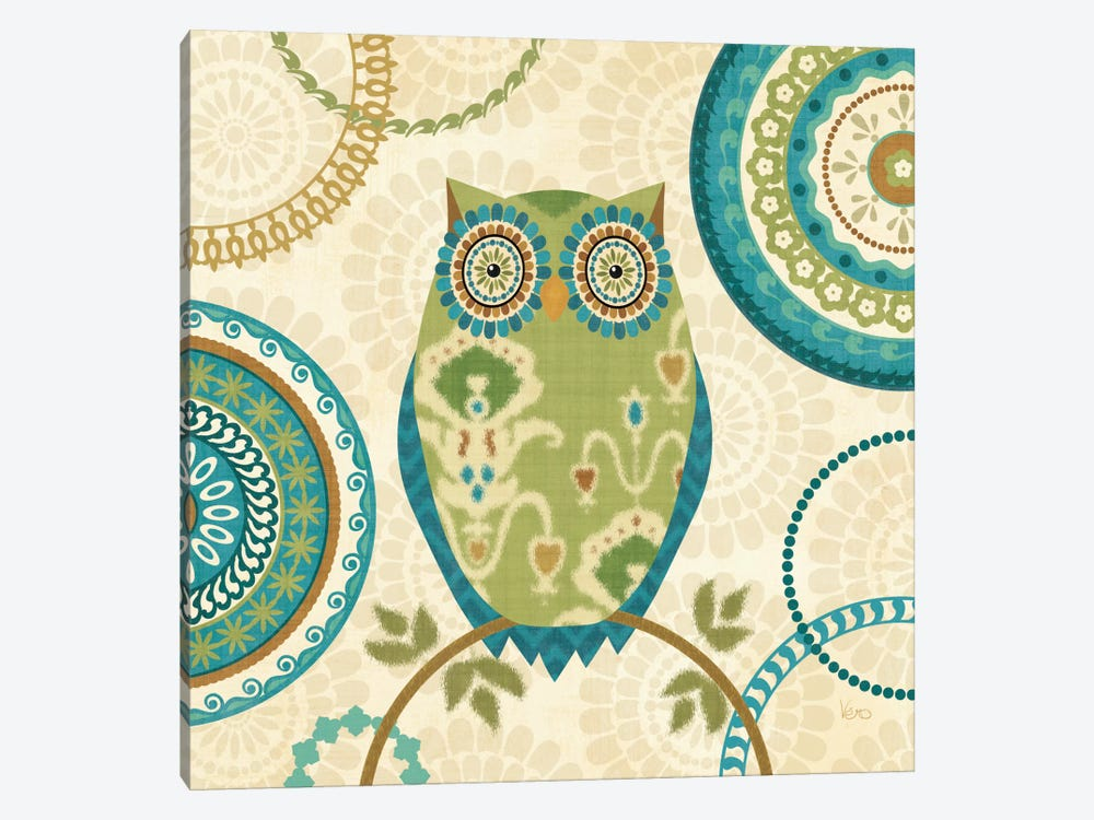 Owl Forest I  by Veronique 1-piece Canvas Print