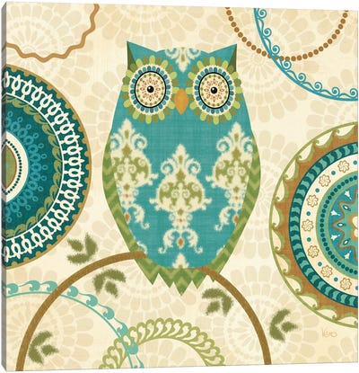 Owl Forest II  Canvas Art Print