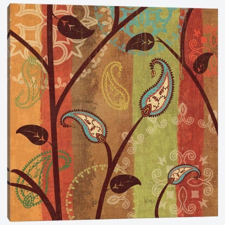 Paisley Garden I  Canvas Print #WAC1560} by Veronique Canvas Art