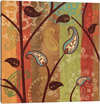 Paisley Garden I  Canvas Art Print