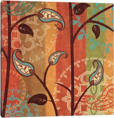 Paisley Garden II  Canvas Print #WAC1561