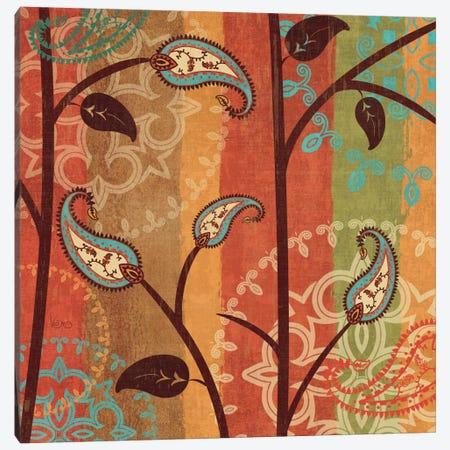Paisley Garden II  Canvas Print #WAC1561} by Veronique Canvas Artwork