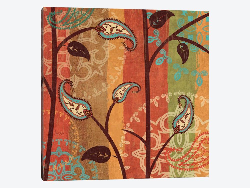 Paisley Garden II  by Veronique 1-piece Canvas Print