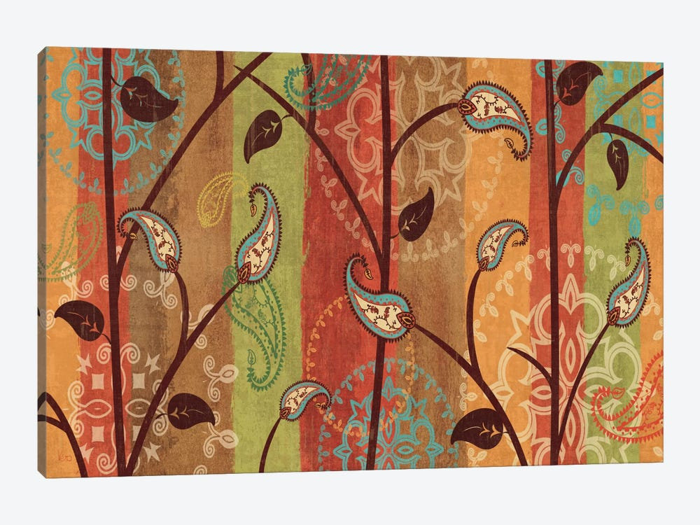 Paisley Garden Canvas Wall Art by Veronique | iCanvas