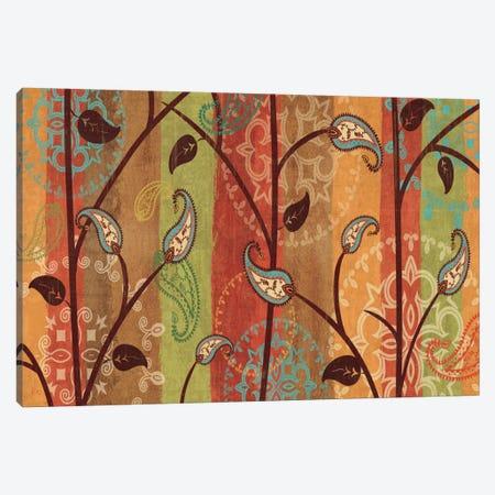 Paisley Garden  Canvas Print #WAC1562} by Veronique Canvas Wall Art