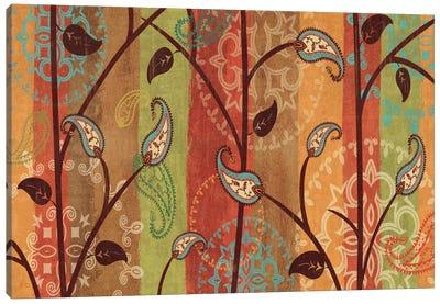 Paisley Garden  Canvas Art Print