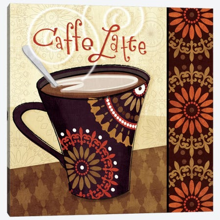 Cup of Joe IV  Canvas Print #WAC1566} by Veronique Canvas Art Print