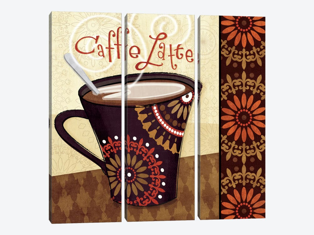 Cup of Joe IV by Veronique 3-piece Canvas Artwork