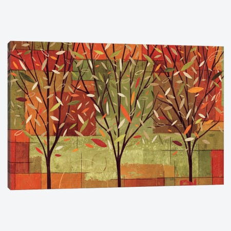 Watercolor Forest II  Canvas Print #WAC1569} by Veronique Canvas Wall Art
