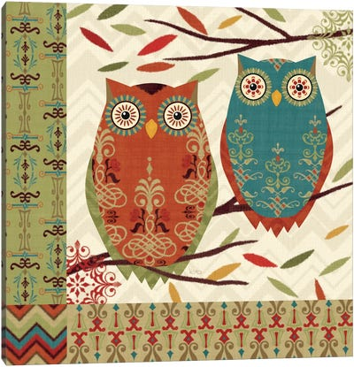 Hoot I  Canvas Art Print