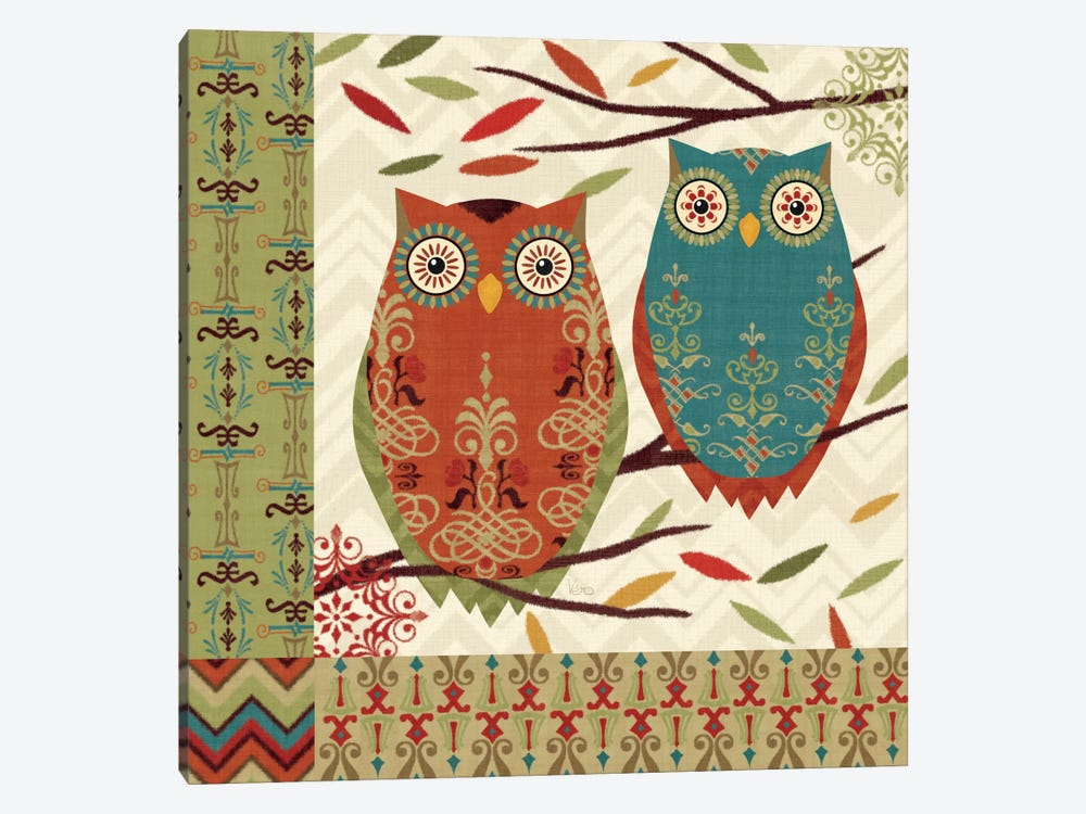 Hoot I 1-piece Canvas Art Print