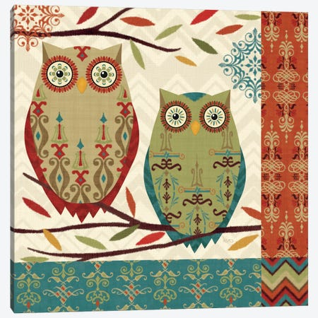 Hoot II  Canvas Print #WAC1575} by Veronique Canvas Art